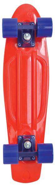 Schildkröt Retro Skateboard 22´´, Design: Native Red