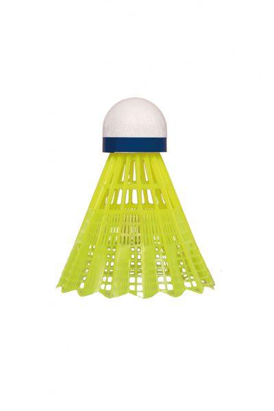 Badm.-Ball TECH 400 2 x 6er Dose, Korb yellow, Speed blue/medium