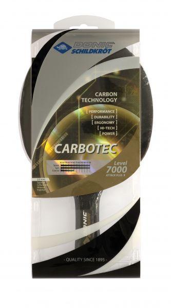 Donic-Schildkröt Tischtennisschläger CarboTec 7000, anatomisch