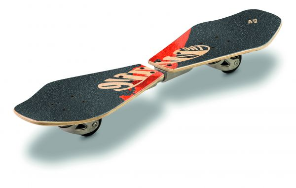 "Wooden Waveboard Wave Rider - ""Abstract"""