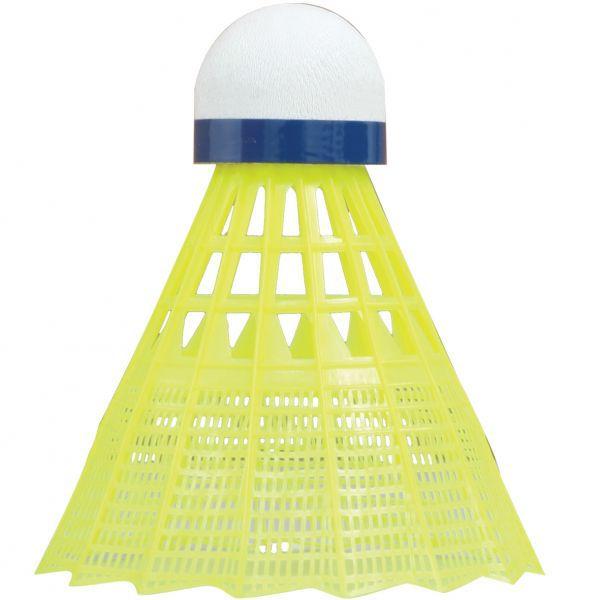 Talbot-Torro Badmintonball Tech 450 Premium Nylonfederball, 6er Dose
