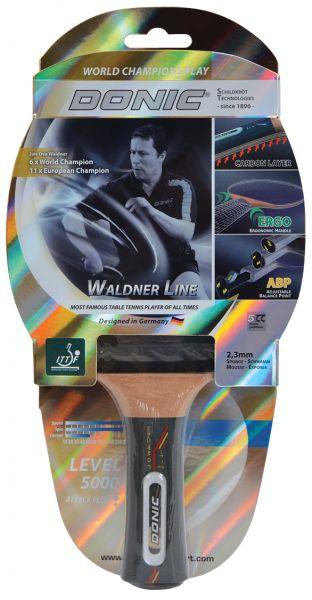 Tischtennisschläger Waldner 5000 Carbon mit ABP-Griff