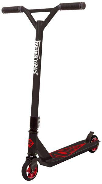 Streetsurfing Torpedo Stuntscooter - Black Core Red