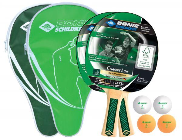 Tischtennis-Cover-Set Champs Line 400 FSC