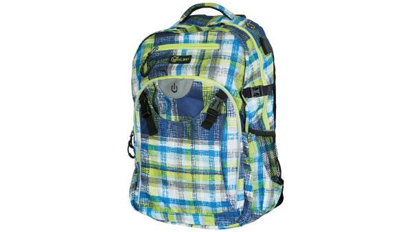 Wheel-Bee® LED-Backpack Generation Z - Blue / Green / White