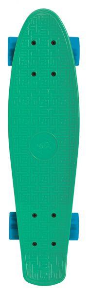 Schildkröt Retro Skateboard 22´´, Design: Native Green