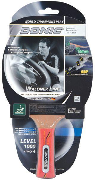Tischtennisschläger Waldner 1000 mit ABP-Griff