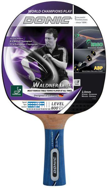 Donic-Schildkröt Tischtennisschläger Waldner 800 mit ABP-Griff