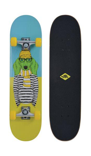 Skateboard Kicker 31 - Design: Green Dog