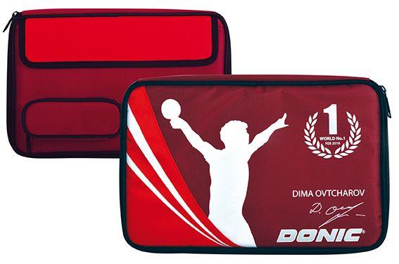 Donic-Schildkröt Tischtennis Schlägerhülle Ovtcharov Plus