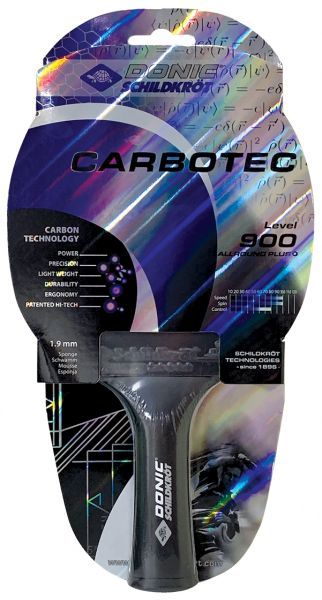 Tischtennisschläger CarboTec 900, konkav