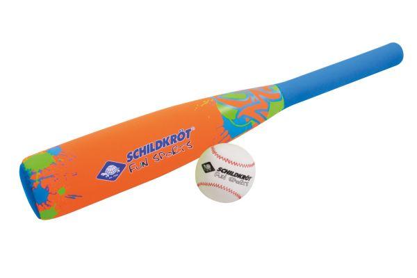 Neopren Baseball Set, orange-blue