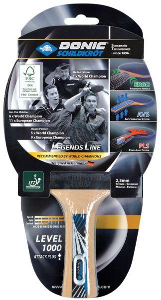 Tischtennisschläger Legends 1000 FSC