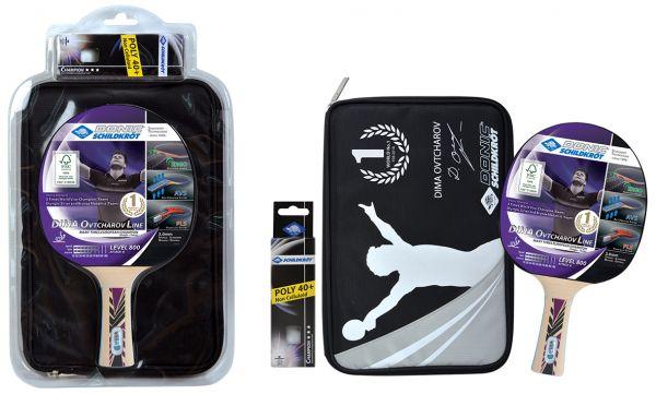 Donic-Schildkröt Tischtennis-Premium-Geschenkset Ovtcharov 800 FSC