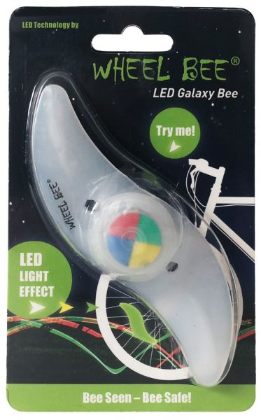 Wheel-Bee® LED-Bicycle Light - Galaxy Bee