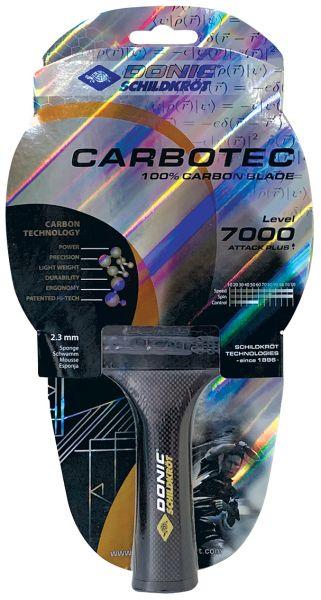 Tischtennisschläger CarboTec 7000, konkav