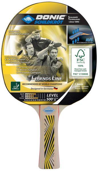 Tischtennisschläger Legends 500 FSC