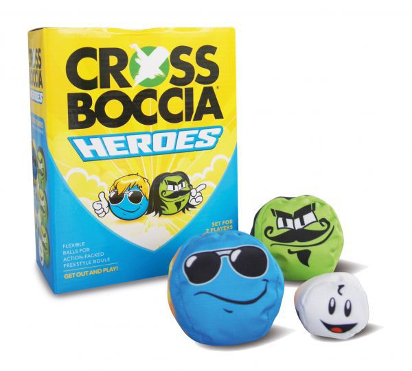 "Crossboccia-Double-Pack HEROES, Design ""Mexican+Dude"""