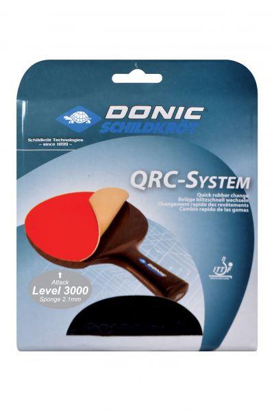 Donic-Schildkröt Tischtennis Ersatzbelag QRC Level 3000 Energy - Spieltyp: Attack