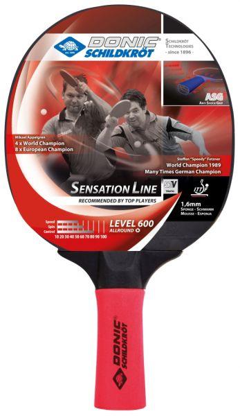 Tischtennisschläger Sensation 600