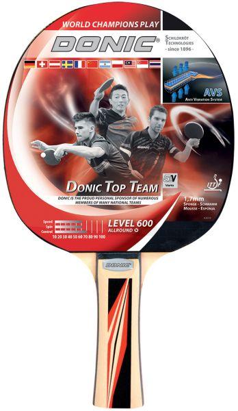 Donic-Schildkröt Tischtennisschläger Top Team 600