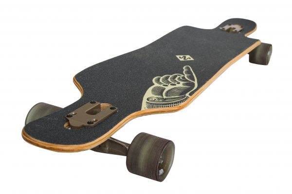 "Longboard Freeride Drop Through 39"" - The Finger"
