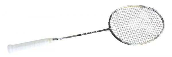 Badminton-Schläger ISOFORCE 1011.7 C4, black-white-silver
