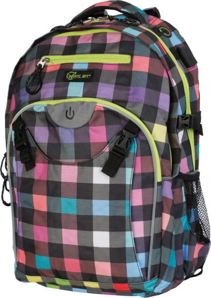 Wheel Bee BACKPACK Generation Z, Design Lady Multicolour