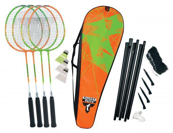 Talbot-Torro Badminton-Set 4-Attacker Plus
