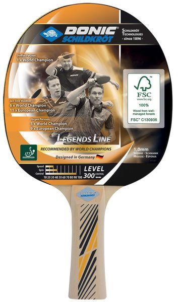 Donic-Schildkröt Tischtennisschläger Legends 300 FSC