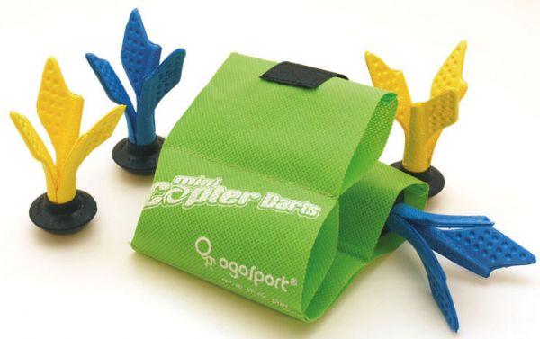 Ogo Sport Copter Darts, (2x 2 Darts 160mm +Tasche im Karton)