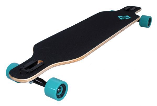 "Longboard Freeride Drop Through 39"" - Wolf"