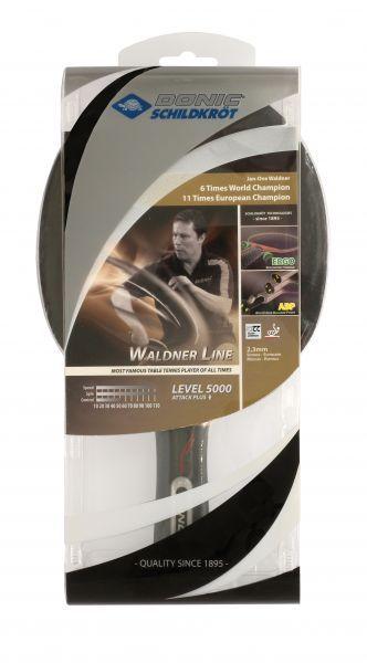 Donic-Schildkröt Tischtennisschläger Waldner 5000 Carbon mit ABP-Griff