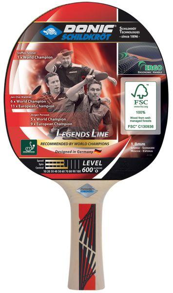 Tischtennisschläger Legends 600 FSC
