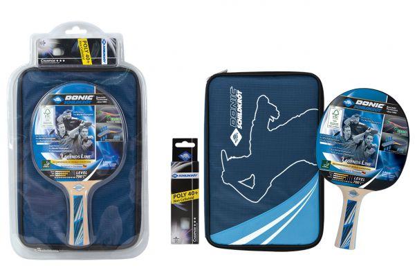 Donic-Schildkröt Tischtennis-Premium-Geschenkset Legends 700 FSC