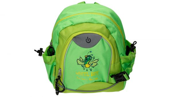 Wheel-Bee® LED-Backpack Kiddy Bee Junior - Green