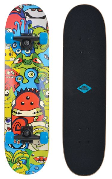 Schildkröt Skateboard Slider 31 - Design: Monsters