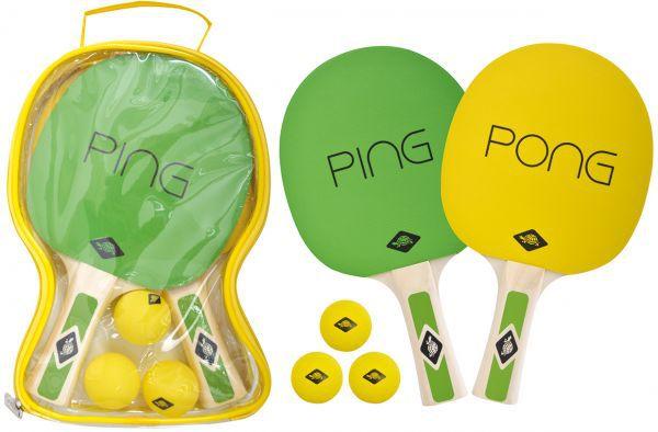 Donic-Schildkröt Tischtennis-Set Ping Pong