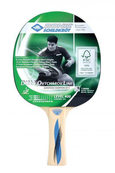 Donic-Schildkröt Tischtennisschläger Ovtcharov 400 FSC