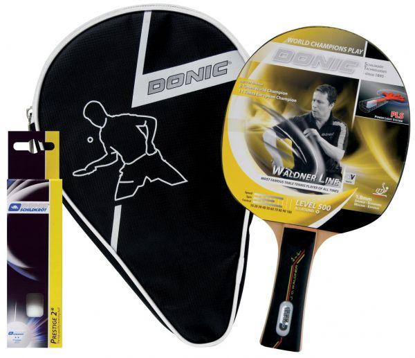 Donic-Schildkröt Tischtennis-Geschenkset Waldner 500