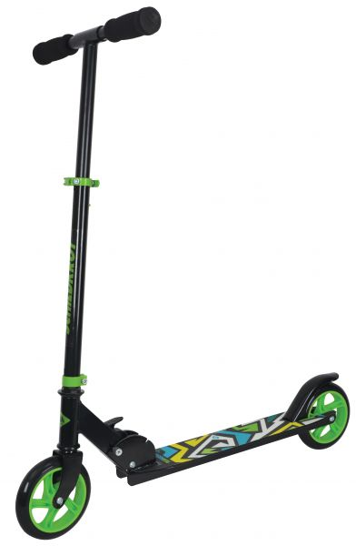 City Scooter RunAbout, 145mm Räder - Green