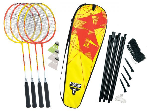 Talbot-Torro Badminton-Set 4-Fighter