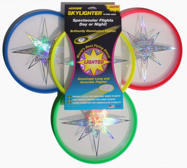 "Aerobie Wurfscheibe ""Skylighter"" LED-Disc"