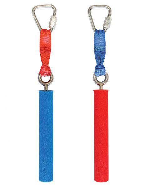 Slackers Ninja Pipes, 2 Stück im Set (rot / blau)