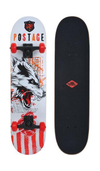 Skateboard Grinder 31 - Design: Wolf