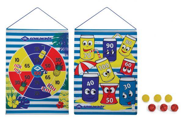 Roll-Up Dart Set, inkl. 2x3 Bälle