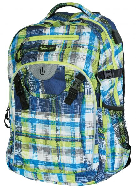 LED-Backpack Generation Z - Blue / Green / White