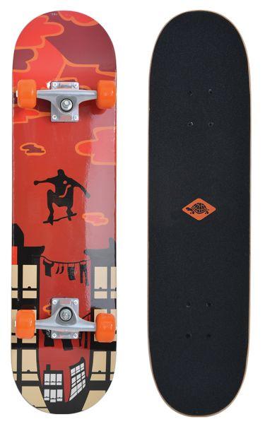 Skateboard Kicker 31, Design: Red Parkour