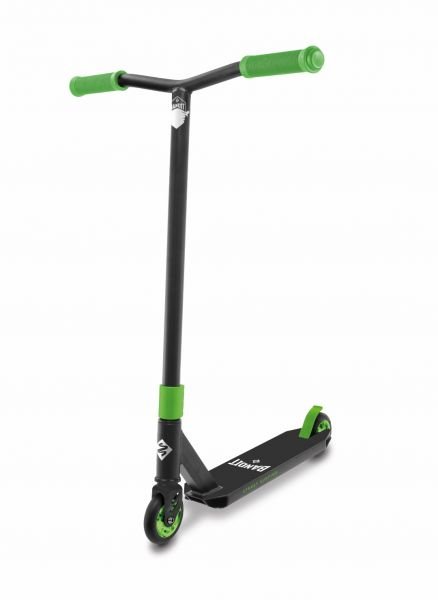 "Street Surfing ""BANDIT""- Stunt-Scooter, green/black"