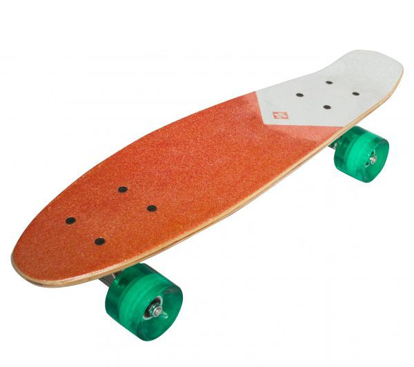 "Streetsurfing® Beach Board 22"" - Wood Orange"
